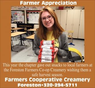 Farmer Appreciation