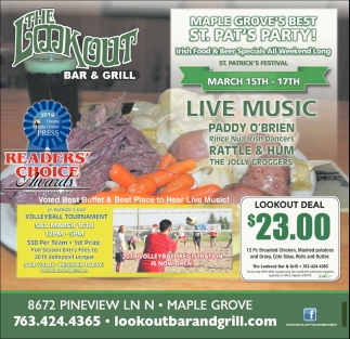 Maple Grove's Best St. Pat's Party!