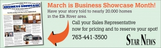 March is Business Showcase Month!