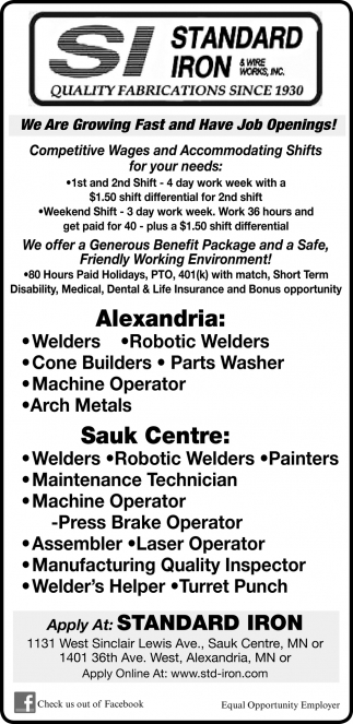 We are Growing Fast and Have Job Openings!