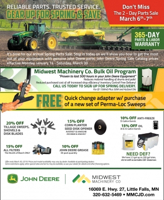 Gear Up for Spring & Save
