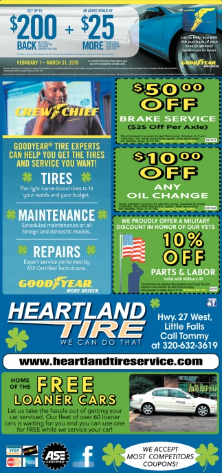 Goodyear Tire Experts Can Help You Get the Tires and Service You Want!
