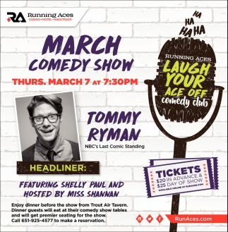 March Comedy Show
