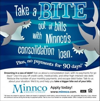 Take a Bite out of Bills with Minnco's Consolidation Loan