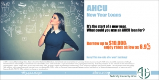 It's the Start of a New Year. What Could You Use an AHCU Loan for?