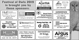 Festival of Owis 2019 is Brought You by These Sponsors