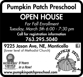 Open House for Fall Enrollment