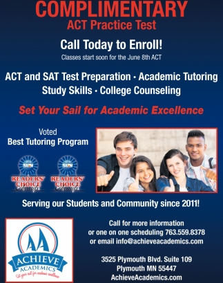 Complimentary Act Practice Test