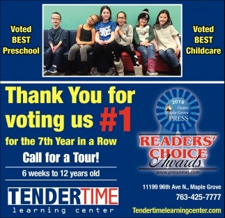 Thank You for Voting Us #1 for the 7th Year in a Row