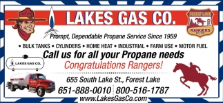 Call Us for All Your Propane Needs