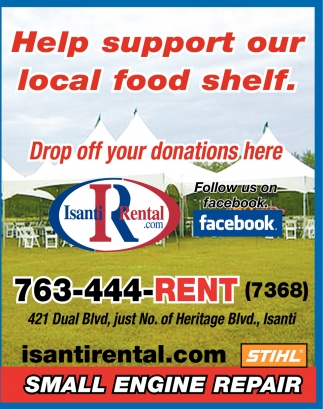 Help Support Our Local Food Shelf