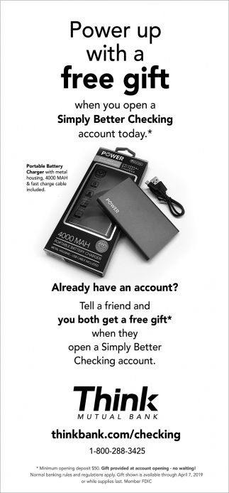 Power Up with a Free Gift