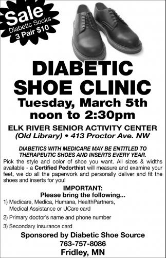 Diabetic Shoe Clinic