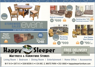 Mattress & Furniture Stores