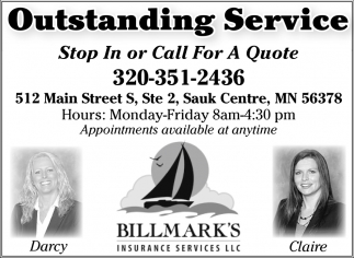 Outstanding Service
