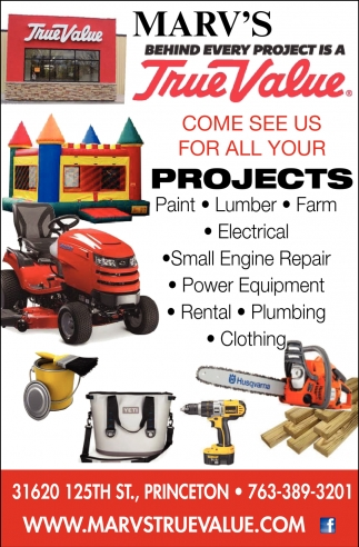 Come See Us for All Your Projects