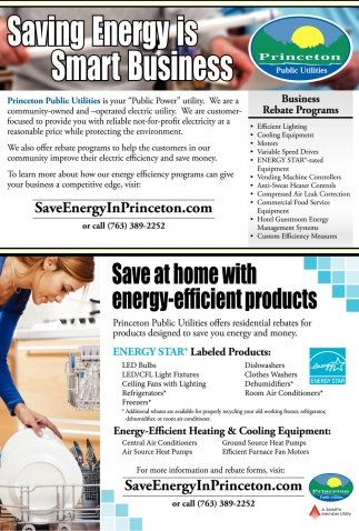 Saving Energy is Smart Business