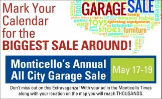 Mark Your Calendar for the Biggest Sale Around!