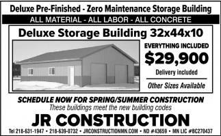 Deluxe Storage Building