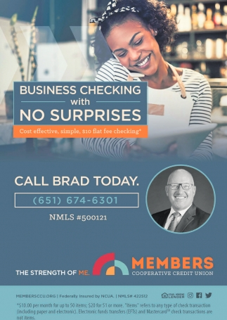 Business Checking with No Surprises