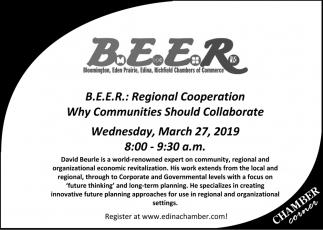 B.E.E.R.: Regional Cooperation