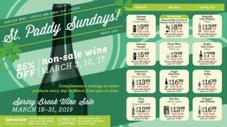 St. Paddy Sundays!