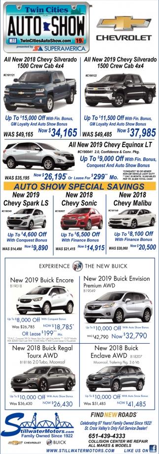 Auto Show Special Savings