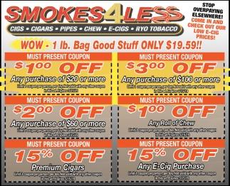Wow - 1lb. Bag Good Stuff Only $19.59