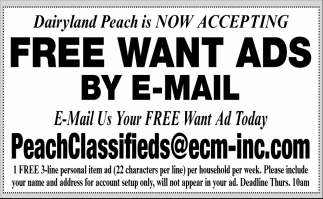 Free Want Ads