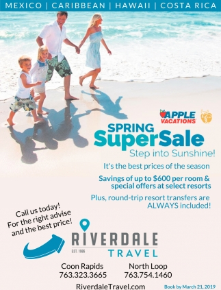 Spring SuperSale