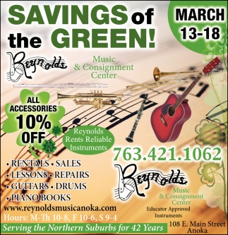 Savings of the Green!