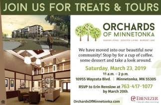 Join Us for Treats & Tours