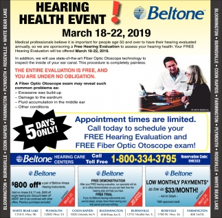 Hearing Health Event