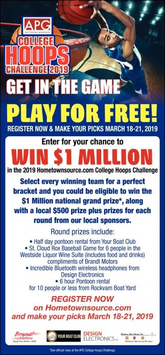 College Hoops Challenge 2019