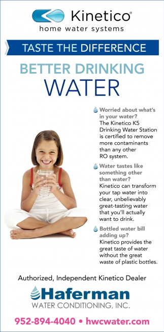 Better Drinking Water
