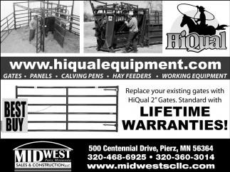 Lifetime Warranties!