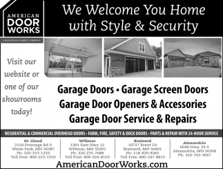 We Welcome You Home with Style & Security