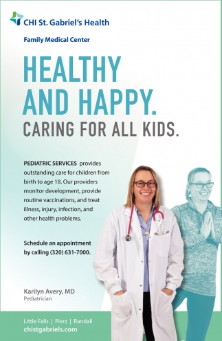 Healthy and Happy. Caring for All Kids