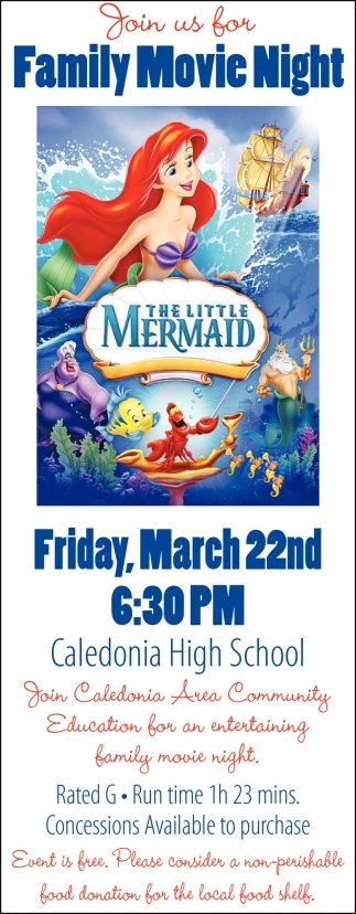 Join us for Family Movie Night