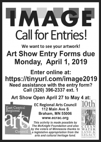 Art Show Entry Forms