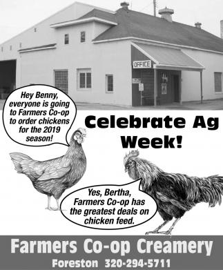 Celebrate Ag Week!