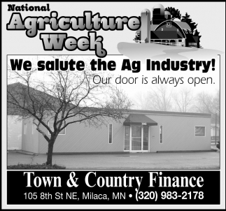 National Agriculture Week