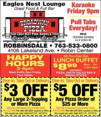 coupon broadway pizza
