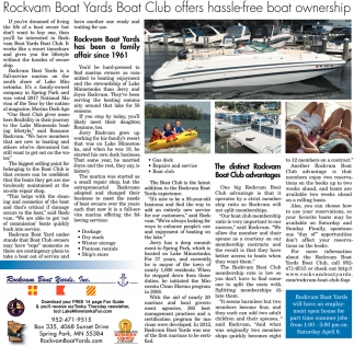 Rockvam Boat Yards Boat Club Offers Hassle-free Boat Ownership
