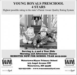 Young Royals Preschool 4 Stars