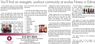 You'll Find An Energetic Workout Community at Evolve Fitness in Edina