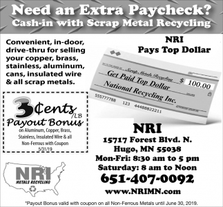 Need an Extra Paycheck?