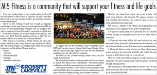 Mi5 Fitness is a Community that Will Support Your Fitness and Life Goals