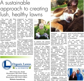 A Sustainable Approach to Creating Lush, Healthy Lawns