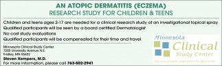 Research Study for Children & Teens